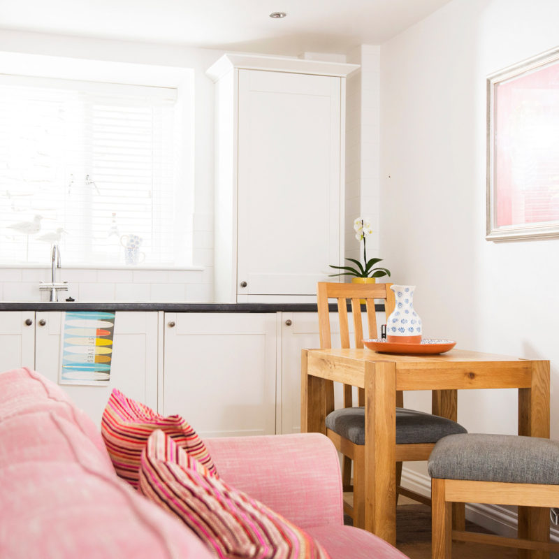 Luxury self-catering apartment in St Ives.