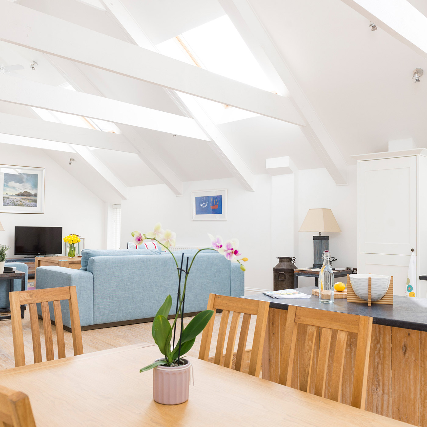 Luxury apartment in St Ives, accommodation in Cornwall.