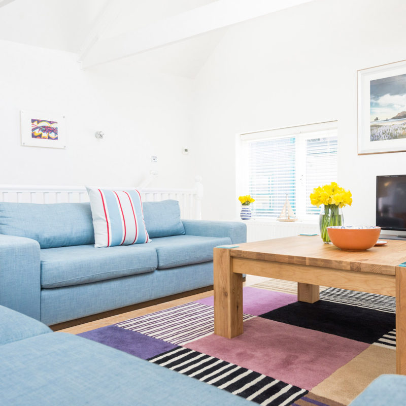 Luxury apartment in St Ives, Cornwall.