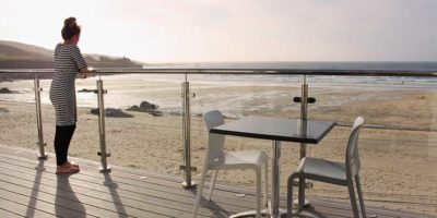 Dining out during your luxury self catering stay in St Ives, Cornwall.