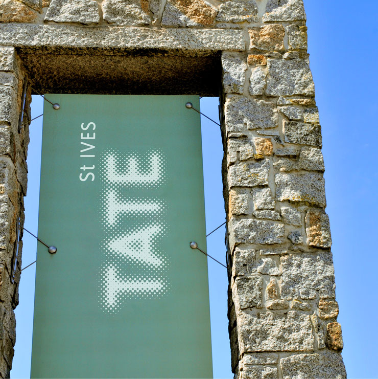 entrance to the tate st ives