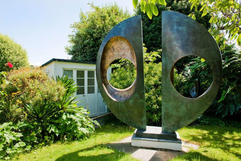 Barbara Hepworth Gardens during a short break in St Ives