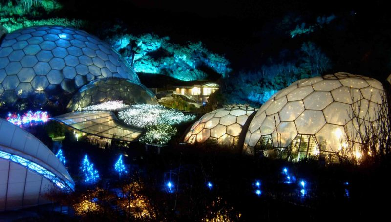 The Eden Project - things to do when staying in St Ives.