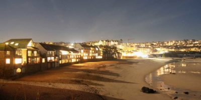 Spend New Year's Eve self catering in St Ives.