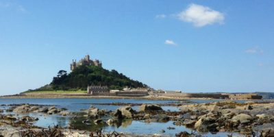 St Michael's Mount near luxury apartments in St Ives