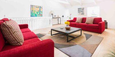 Luxury apartment in St Ives beside Porthmeor Beach.