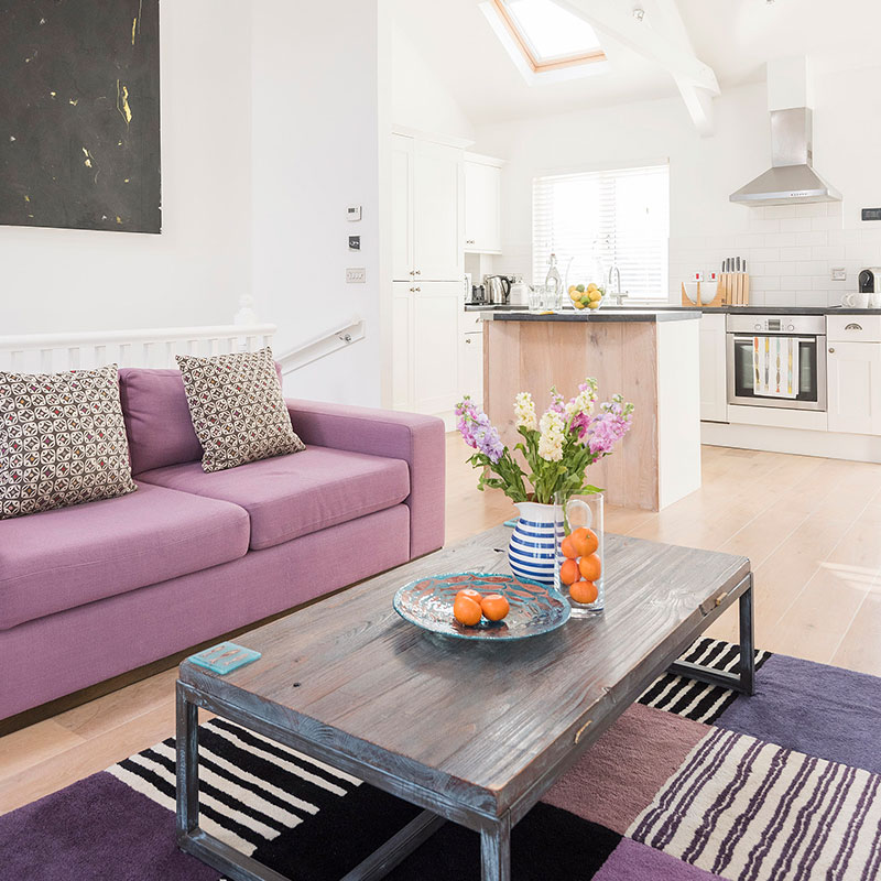 Luxury couples accommodation in St Ives