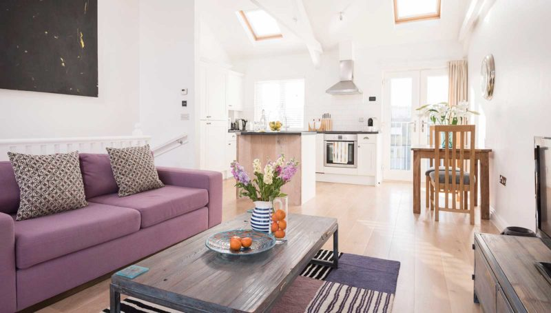 luxury apartment in Cornwall Lighthouse