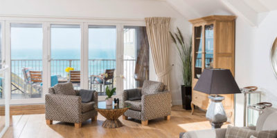 Luxury apartments in St Ives sea views