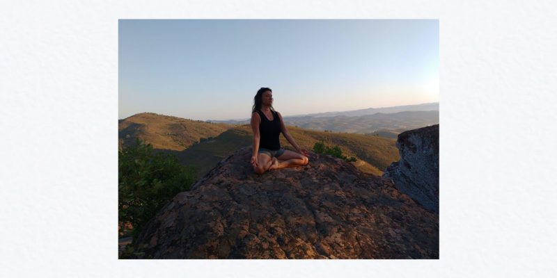Kim Hopkins wellbeing retreat St Ives