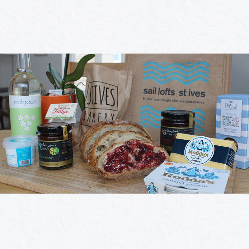 Local suppliers Cornwall St Ives