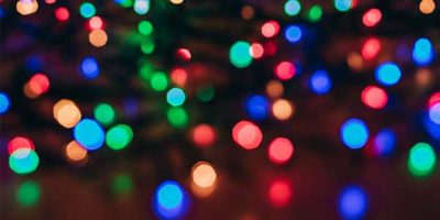 Christmas lights in cornwall