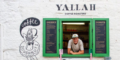 coffee shops in st ives, yallah