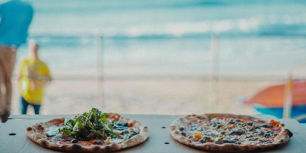 pizza at west porthmeor